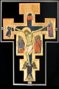 Croce dipinta, recto