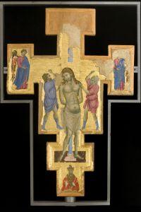 Croce dipinta, verso