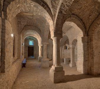 Abbazia di Montelabate, cripta