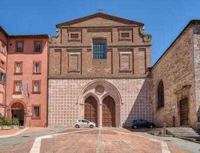 Chiesa di S. Agostino, esterno