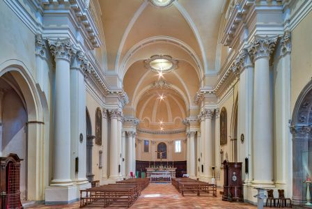 Chiesa di S. Agostino, interno