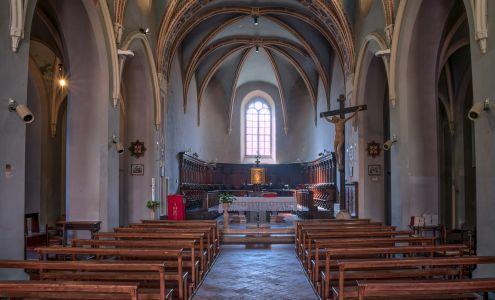 Chiesa di Monteripido, interno