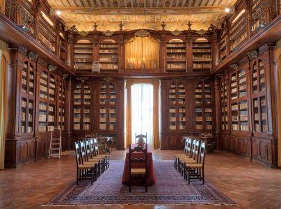Convento di Monteripido, biblioteca