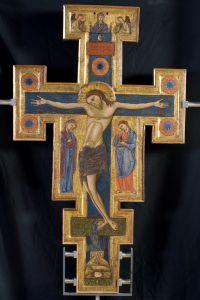 croce processionale bifacciale